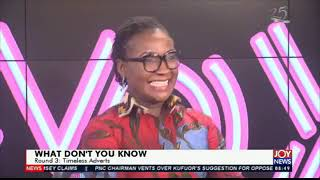 What Don't You Know ?? Roland Walker Vs Mamavi Owusu Aboagye on JoyNews AM Show