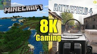 minecraft 8k gameplay - Thủ thuật máy tính - Chia sẽ kinh