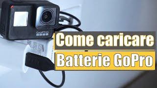 COME CARICARE le BATTERIE GoPro | Pillole di @GoPro #41