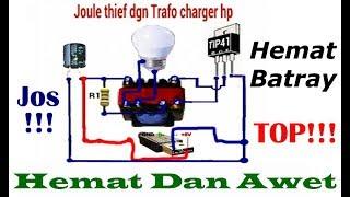 Download Video INVERTER 1,5volt - 5volt DC Ke 220volt AC  (Joule Thief) 100% JOSS MP3 3GP MP4