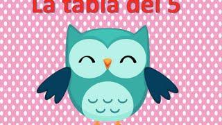 LA TABLA DEL 5 APRENDEMOS LAS LAS TABLAS DE MULTIPLICAR EN UN MINUTO