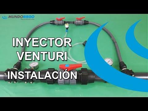 ¿Como montar un inyector venturi? optimizamos la fertirrigación
