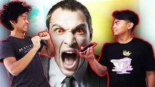 PRANK CALLING PEOPLE BUT WE CANT HEAR THEM CHALLENGE FT. GUAVA JUICE