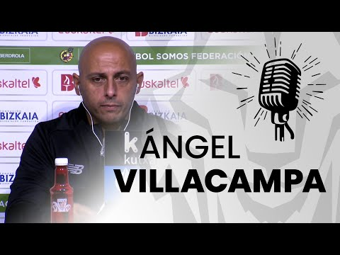 🎙️ Ángel Villacampa I post Athletic Club 2-2 Real Betis I J3 Primera Iberdrola