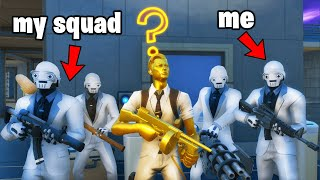 Fortnite Squads except we Protect MIDAS