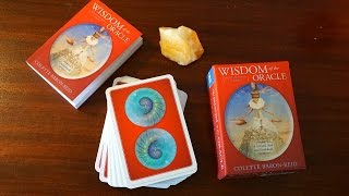 WISDOM OF THE ORACLE BY COLETTE BARON REID //  UNBOXING & FIRST IMPRESSIONS