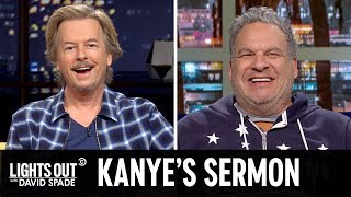 Kanye West Gets Weird at Church (feat. Anna Faris) - Lights Out with David Spade