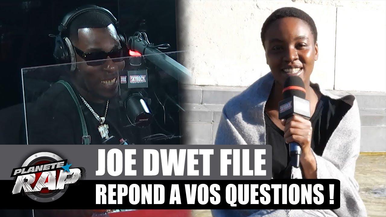 Joé Dwèt Filé va se mettre à KICKER ? Il répond à VOS questions ! #PlanèteRap