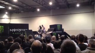 Motorrad Trial Vorführung