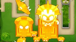 Beating Round 100 B A D  - The STRONGEST BLOON in BTD6