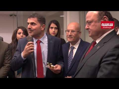 فيديو| افتتاح البنك الأهلي في الماصيون