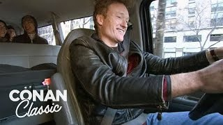 Conan Helps Out During The NYC Transit Strike -