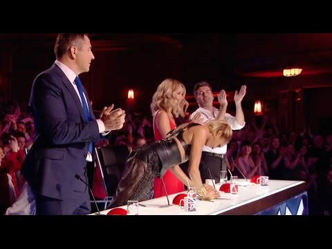 Judges Fight To Push The Golden Buzzer For This Act! (видео)