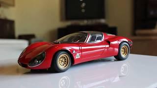 Alfa Romeo 33 Stradale Prototype 1968 1:18 Scale By Autoart