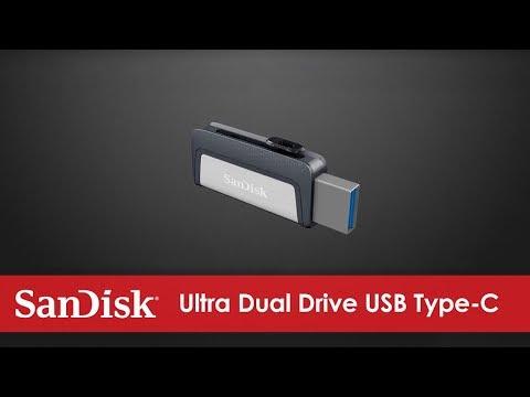 Sandisk Ultra Dual Drive (128GB, USB 3.1, USB Type-C)