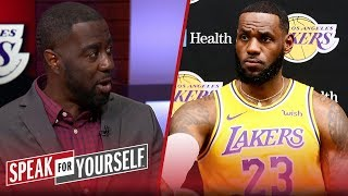 Chris Haynes On LeBron's Comments About Taking A Backseat To AD | NBA | SPEAK FOR YOURSELF