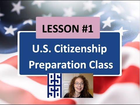 100 CIVICS QS. (2008 VERSION) - Lesson 1 U.S Citizenship ...