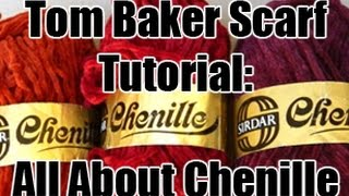 Doctor Who Tom Baker Scarf Tutorial - All About Chenille