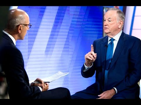 Bill O'Reilly GRILLED By Matt Lauer On Sexual Harassment Allegations