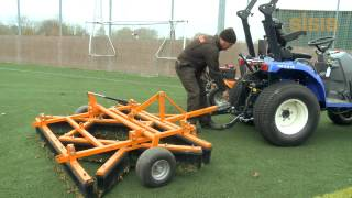 SISIS Varibrush - Synthetic Turf Maintenance