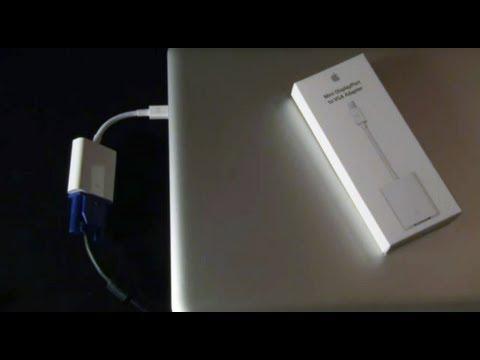 Apple: Displayport to VGA Adaptor (Macbook to Overhead Projector)