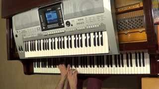 Aneta Sablik - The One - piano & keyboard synth cover by LIVE DJ FLO