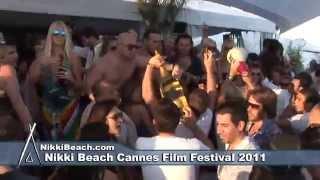 Nikki Beach La Plage Cannes Film Festival 2011