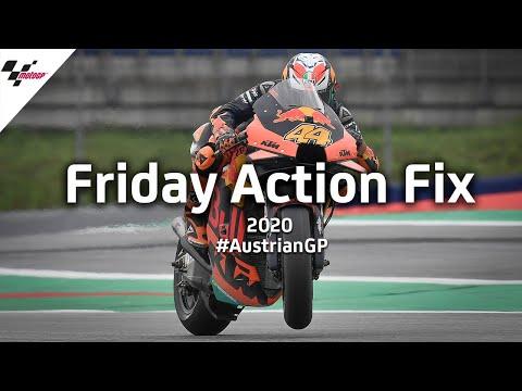 MotoGP オーストリアGP 金曜日のフリー走行のハイライト動画