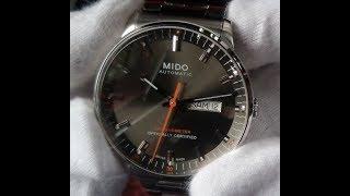 Unboxing: Mido Commander II M021.431.11.061.01 Chronometer Caliber 80 (4K Ultra HD)