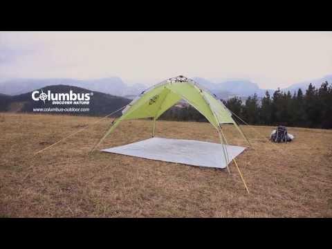 Columbus MOSA 4 - Tienda de campaña y carpa para camping