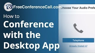 How to Conference with the Desktop App