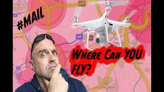 So where can YOU fly your Drone in the UK? //MAIL- #114