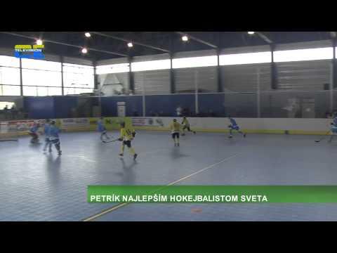 S. PETRÍK - najlepším hokejbalistom sveta.