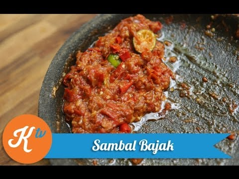 Resep Sambal Bajak (Indonesian Red Chili Paste Recipe Video)