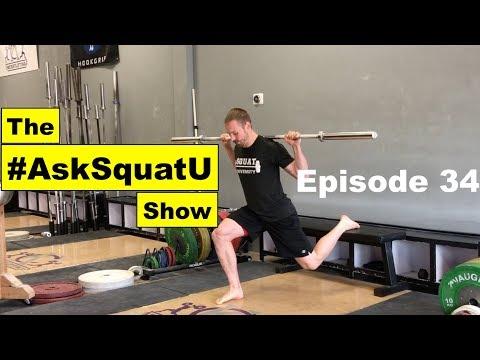 How to Perform A Bulgarian Split Squat  |#AskSquatU Show Ep. 34|