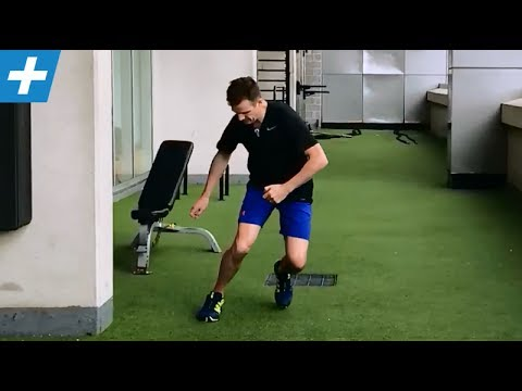 ACL Surgery Rehab - Pt 4: Single leg + change direction | Feat. Tim Keeley | No.100 | Physio REHAB