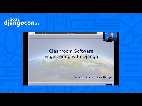 DjangoCon 2021 WorkShop | Cleanroom Software Engineering with Django | Francisco López-Lira Hinojo thumbnail