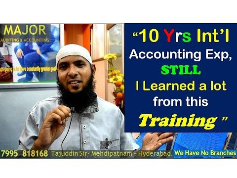 Mr. Irfan 10 yrs Int'l Exp Accounts Manager's review after Training ...
