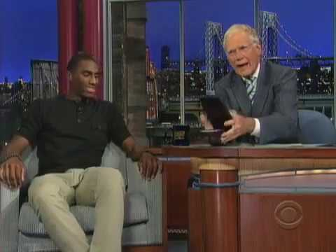 Olympian, K-State's Erik Kynard on The David Letterman Show