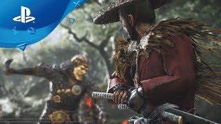 Ghost of Tsushima: Gameplay Debut Trailer [PS4, deutsche Untertitel] E3 2018