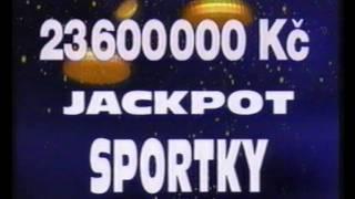 Reklama/Commercial/Werbung - Sazka - Sportka Jackpot (2000) CZ