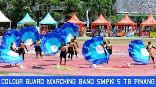 Colour Guard Marching Band Kontes SMPN 5 Tanjung Pinang | Batam Open Marching Band Championship 2019