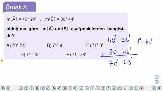 Eğitim Vadisi 11.Sınıf Matematik 1.Föy Trigonometri 1 Konu Anlatım Videoları