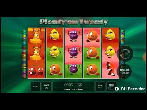 Игровой автомат PLENTY OF TWENTY играть бесплатно и без регистрации онлайн