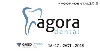 AGORA DENTAL 2015: Conferenciantes