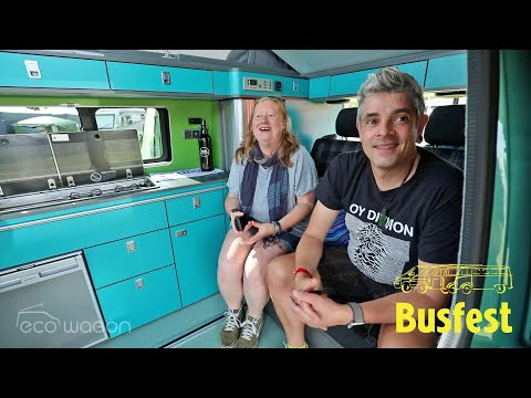 Ecowagon VW Transporter Expo Conversion Customer Review by Dan, Steph & Milo