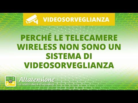 Perché le telecamere wireless non sono un sistema di videosorveglianza