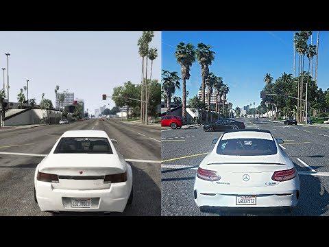 Download Gta 5 Xbox 360 Vs Ultra Realistic 4k 60fps Pc Graphics 20