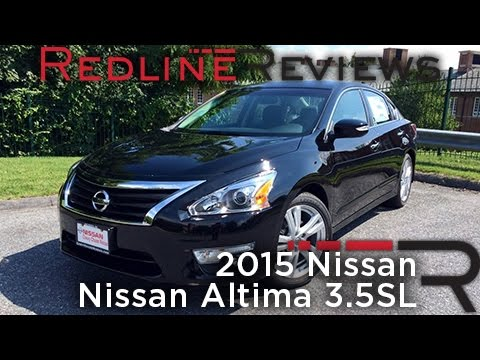 2015 Nissan Altima 3.5SL – Redline: Review