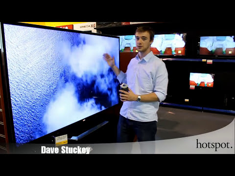 """Unboxing the LG 84"""" LM9600 4k 3D Ultra High Definition TV"""